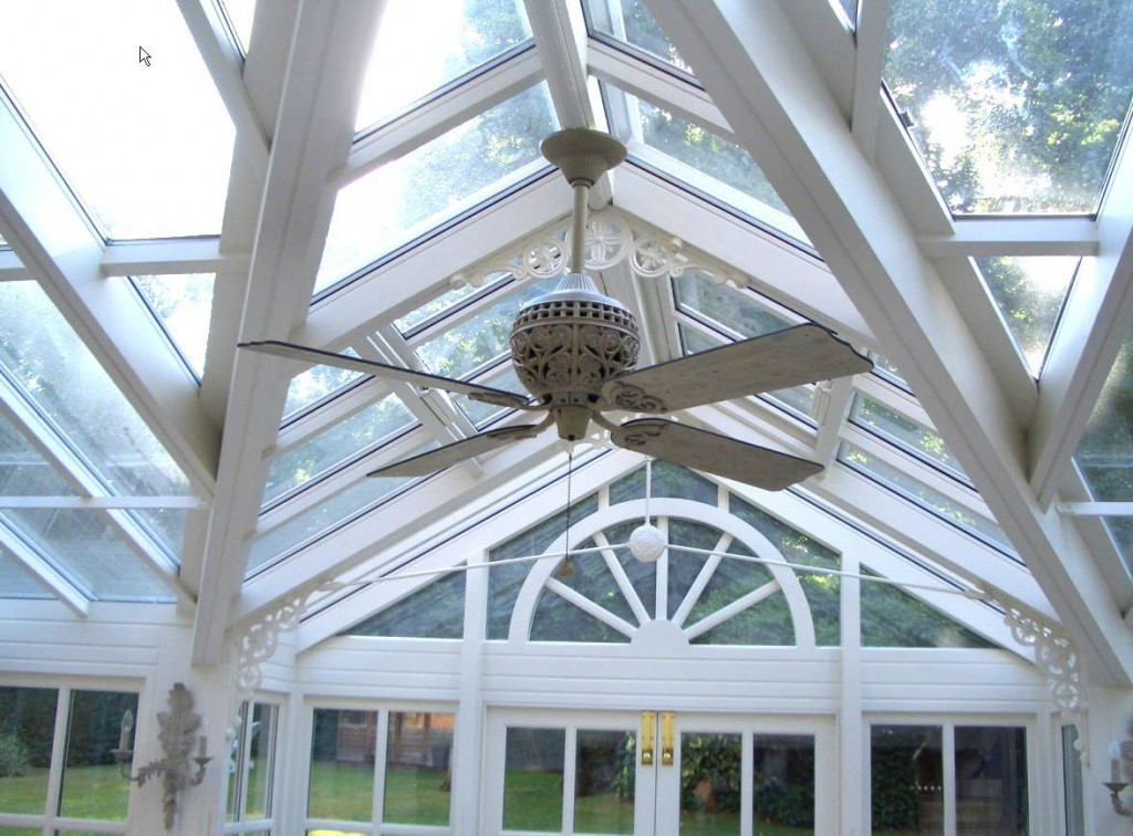 Traditional Conservatory Ceiling Fan