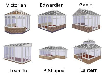 Popular Conservatory Styles